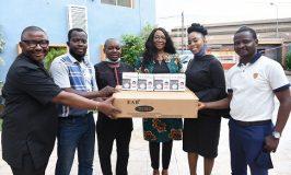 Photo News: MULTICHOICE NIGERIA VISITS BJAN, DONATES PPE TO PREVENT COVID-19 SPREAD