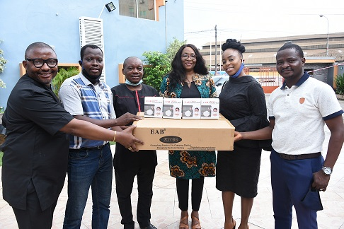 Photo News: MULTICHOICE NIGERIA VISITS BJAN, DONATES PPE TO PREVENT COVID-19 SPREAD