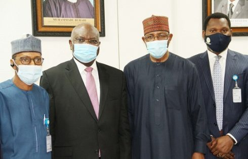 Photo News: SEC Team meets FINTECH Institute Boss in Abuja