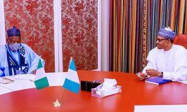 Ganduje Briefs Buhari on Kano Blasphemy Case