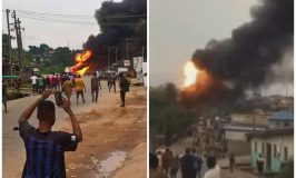 Scores injured, buildings, event centre, vehicles destroyed in Lagos gas explosion