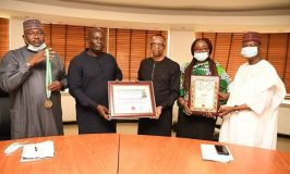 Danbatta Receive National Service Excellence Award From NASAL
