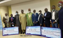 NCC Presents N3 million prize money each to 3 Winners of Covid-19 Virtual Hackathon
