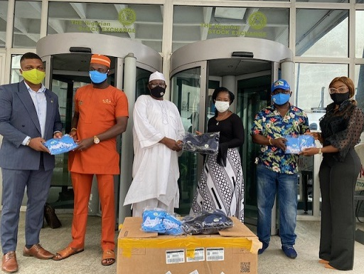 Photo News: NSE Employees Donate Face Masks to Support the Fight Against COVID-19