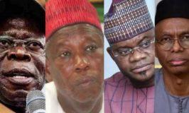 US Visa Ban: Oshiomhole, Ganduje, Yahaya Bello, el-Rufai affected — Report