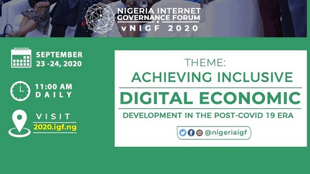 Patanmi, Danbatta, others to attends 2020 Virtual Internet Governance Forum