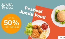 Jumia Nigeria launches its Food Festival to promote adoption of meal ordering & support local restaurants during COVID-19