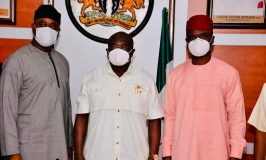 Photo News: NSE President Courtesy Visit To Imo and Abia State Government