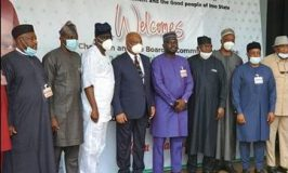 NCC Board visits Imo State Governor, Sen. Hope Uzodinma