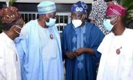 Gambari, Ministers Visit Tinubu in Lagos