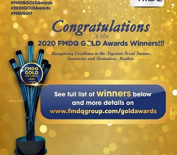 2020 FMDQ GOLD Awards – Winners Emerged