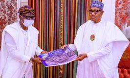 Sanwo-Olu Presents Report to Buhari on Lagos Destruction, Seeks Support