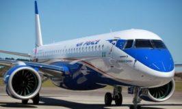 Air Peace's brand new E195-2 Aircraft Arrived Nnamdi Azikiwe International Airport Abuja