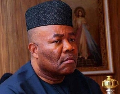 Senator Akpabio Refutes story of $5 million bribe; THREATENS COURT ACTION AGAINST FAKE NEWS AUTHORS