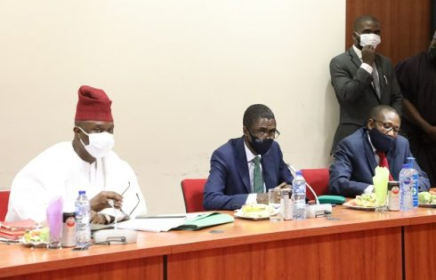 The screening of NDIC MD/CE and ED (OPs) nominees by the Senate committee on Banking, Insurance and other Financial Institutions at the National Assembly
