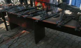 In Mop-Up, Police Recover 196,311 Ammunition, 5,752 Firearms