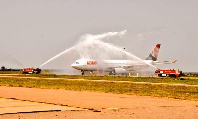 FAAN Temporarily Closes Runwayat MMIA as Azman Flight Bursts Tyre on Landing