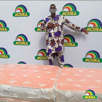 Mouka Made Customised Mattress for Nigeria's Tallest Man, Afeez Agoro