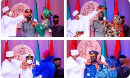 Secure Nigeria in 5 Weeks, Buhari Charges New Service Chiefs