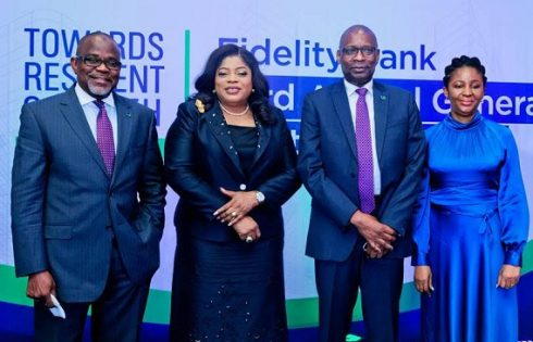 Fidelity Bank Plc's 33rd Annual General Meeting 2020 in Lagos