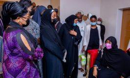 Buhari Calls Attahiru's Wife, Says Nigeria Won't Forget Deceased Officers