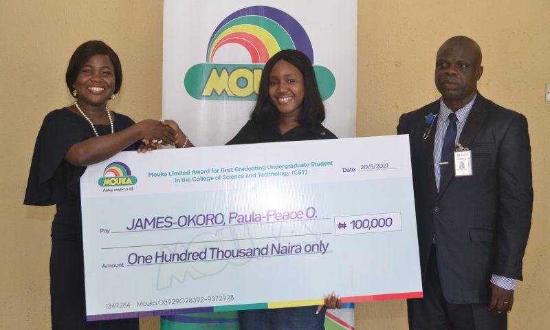 Mouka Splashes Cash On Best Graduating Students of Covenant University