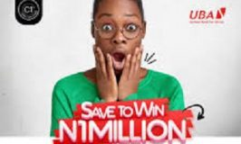 Watch out how UBA Savings Promo will makes 10 loyal customers millionaires on May 7, 2021