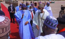 Buhari in Maiduguri, Vows Not to Rest Until Peace is Restored