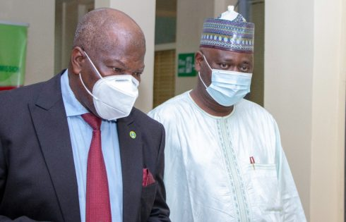 Commissioner For Insurance Host Executive Secretary of National Health Insurance Scheme