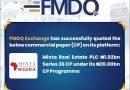 FMDQ Exchange Lists Mixta Real Estate PLC ₦1.02 billion Series 36 Commercial Paper