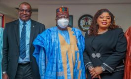 Fidelity Bank On A Courtesy Visit to Office of the Senate President of Nigeria