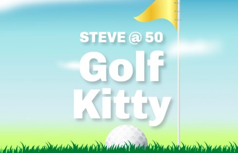 Steve Babaeko @ 50 Golf Kitty Holds Today