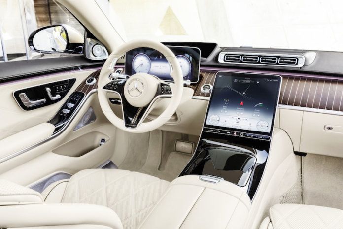 New Mercedes-Maybach S-Class Combines Perfection, High-tech