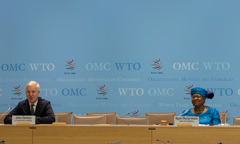Business leaders express support for WTO, underline priorities for MC12