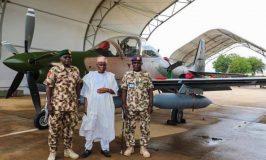 A-29 Super Tucano Fighter Planes Arrive Nigeria