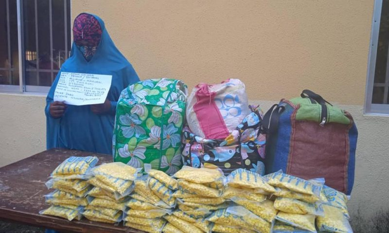 How NDLEA arrests lady Wears hijab with multiple identities to evade detectionfor trafficking illicit drugs