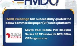 FMDQ Exchange Admits FBNQuest Merchant Bank Limited's Commercial Paper ₦7.34bn on its Platform