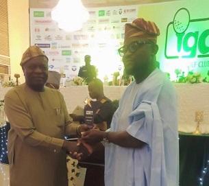 Sovereign Trust Insurance Plc Honour With Diamond Award by Ibadan Golf Club